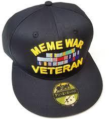 Veteran Meme - the original meme war veteran hat since snake hound machine