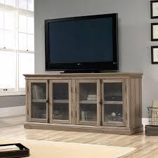 sauder barrister lane credenza for tvs up to 80 u0026quot salt oak