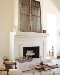 shabby chic brick fireplace 2567
