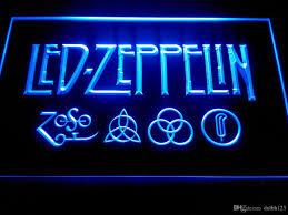 2017 led zeppelin rock n roll neon light signs lf002b from