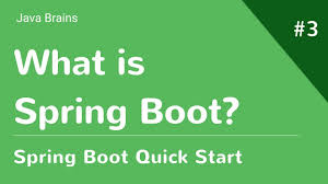 what is spring spring boot quick start 3 what is spring boot youtube