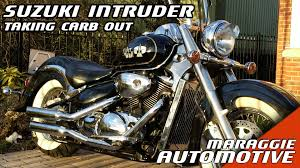 suzuki intruder volusia how to take the carburettor out youtube