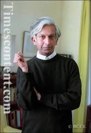 Renowned editor and publisher of English literature, Ravi Dayal poses for the Times of India - Ravi-Dayal