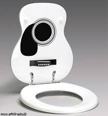 themed toilet seats royal flush guitar of pearl seat