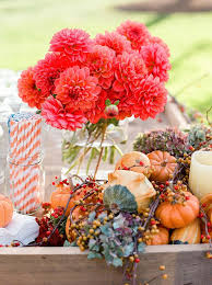 7 glamorous ways decorate your fall wedding with