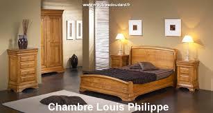 chambre en bois chambre louis philippe en bois massif