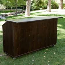 bar rentals bar wood vineyard 6 foot x20 inch x42 inch rentals salt lake city