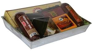 Wisconsin Gift Baskets Summer Sausage U0026 Wisconsin Cheese Gift Basket With Klement U0027s Meat