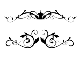 free floral ornamental border brushes free photoshop brushes at