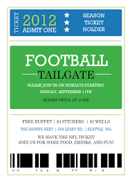 sport ticket template template examples