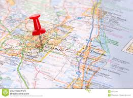 Florida On Map by Orlando Florida Royalty Free Stock Photography Image 17116317