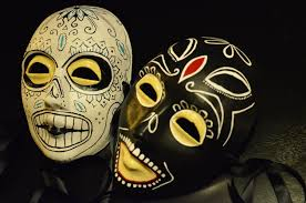 ben and chon masks day of the dead male savages taylor