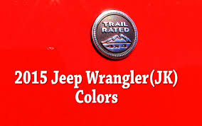 jeep wrangler sport logo 2015 jeep wrangler colors and paint codes youtube