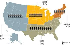 us map states los angeles ad age white paper no more joe consumer in america news adage