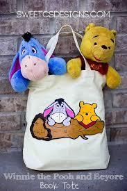 easy diy winnie pooh tote bag sweet u0027s designs