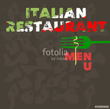 italian restaurant menu design template free copy space