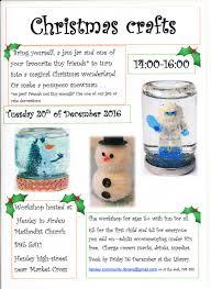 christmas crafts u2013 workshop for children u2013 20th december 2016