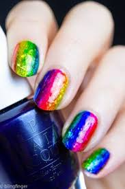 fan brush nail art tutorial opi color paints youtube re pin