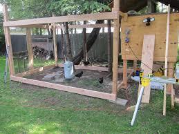 building a backyard chicken coop diy urban coop part 2