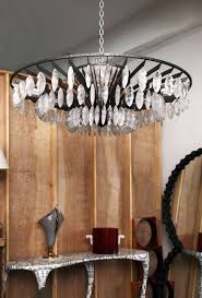 Rock Crystal Chandeliers Valerie Goodman Gallery Rock Crystal And Hand Hammered