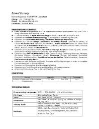 Sample Etl Testing Resume by Sap Bi Sample Resumes Free Download Contegri Com