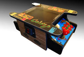 Pacman Game Table by 24 Geeky Tabletop Games Walyou