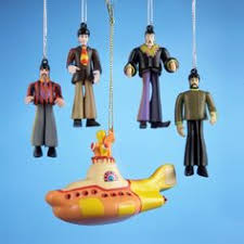 beatles yellow submarine clear dome 3 1 2 inch ornament http www