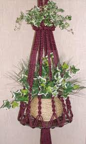 Macrame Home Decor by Top 10 Fancy Ideas For Macrame Hanging Planter Top Inspired