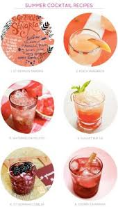Summer Cocktail Party Recipes - end of summer cocktail party bon voyage
