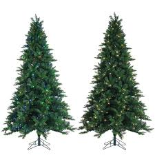 artificial christmas tree with lights sterling 7 5 ft pre lit oakland spruce artificial christmas tree