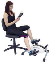 under desk foot exerciser deskcycle under desk exercise bike