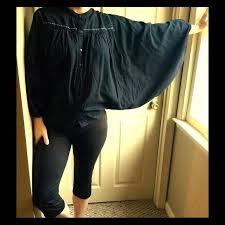 boho butterfly sleeve linen blouse eco designer boho butterfly