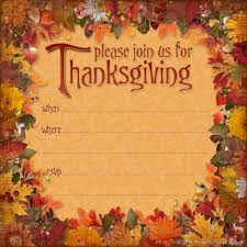 downloadable thanksgiving invitations happy thanksgiving