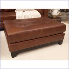 cocktail ottoman leather coffee table coffee table home