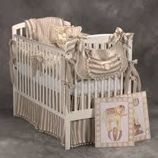 Circus Crib Bedding Circus Toile And Chenille Baby Bedding And Nursery Necessities In