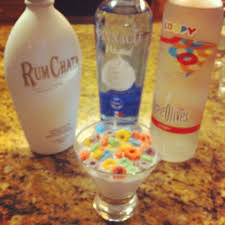 fruity martini recipes fruit loop drink 1 shot rum chata 1 shot whipped vodka 1