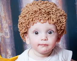 Cabbage Patch Kid Halloween Costume Cabbage Patch Wig Hat Cabbage Patch Kid Wig Baby