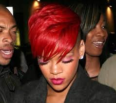 red hair color on black women my hairstyles site