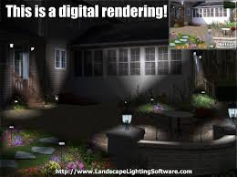 landscape lighting effects program night lighting examples