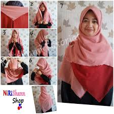 tutorial hijab syar i untuk pengantin 85 gambar keren tutorial jilbab segi empat syar i paling dicari