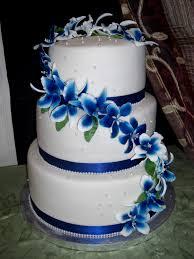 wedding cake royal blue amazing royal blue wedding cake decorating of party