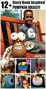 12 kids made storybook pumpkin ideas for halloween literacy