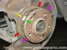 mercedes benz w210 parking brake replacement 1996 03 e320 e420
