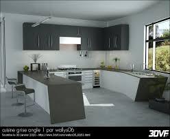 cuisine en angle galerie 3dvf com cuisine grise angle 1 par wallys06