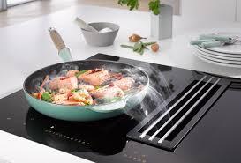 miele cuisine miele twoinone induction technology and clean air ha household