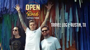 Texas Travel Log images Open road tattoo tour travel log i austin texas jpg