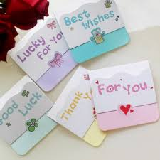gift cards for kids mini letter message card creative mini card with best wishes thank