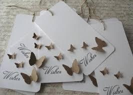 wedding wish trees 100 wedding wishing wish tree butterfly tags set 100 white