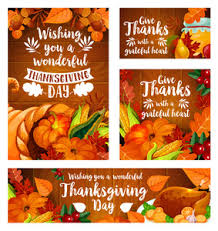 thanksgiving day banner template royalty free stock image
