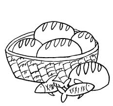 loaves and fishes coloring page funycoloring